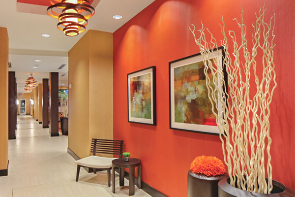 commercial interior design hotel south florida